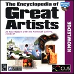 The Encyclopedia of Great Artists PC CDROM software