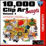 10,000 ClipArt Images PC CDROM software
