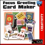 Focus Greeting Card Maker PC CDROM software