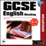 GCSE English Reading PC CDROM software